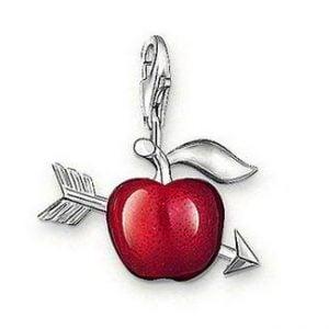 Pinkybears - Cupid Red Apple Charm