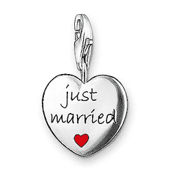 Just Married Charm 1