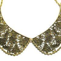 Vintage Hollow Fake Collar Necklace