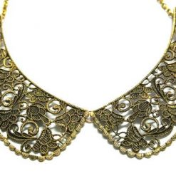 Vintage Hollow Fake Collar Necklace